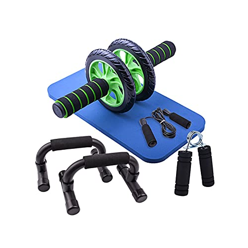 PULLEY 5 in 1 Bauchtrainer Set,...