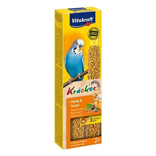 Vitakraft Sittich Kräcker Honig & Sesam - 2 Sticks