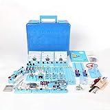 TTSUAI Kit De Aprendizaje De Ciencias, Conjunto De Experimentos De Electricidad Y Magnetismo, Circuitos De Construcción, para Niños, Junior, Estudiantes De Enseñanza Alta