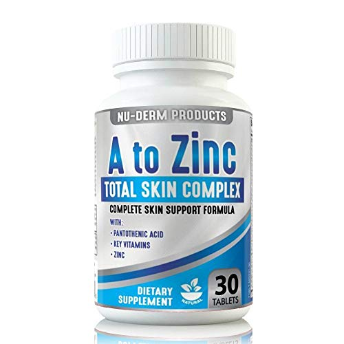 A To Zinc Acne Vitamins Best Acne Pills Blackhead Removal Supplement. Best Acne Vulgaris Pills and Rosacea Treatment. Reduce Benzoyl Peroxide Acne Cream Use-Acne Pills Pimple Treatment For All Ages