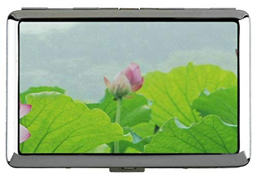 Yanteng SPA Theme con Lily Lotus Flower Cigarette Case Holder-Lotus Pocket Cigarette Box