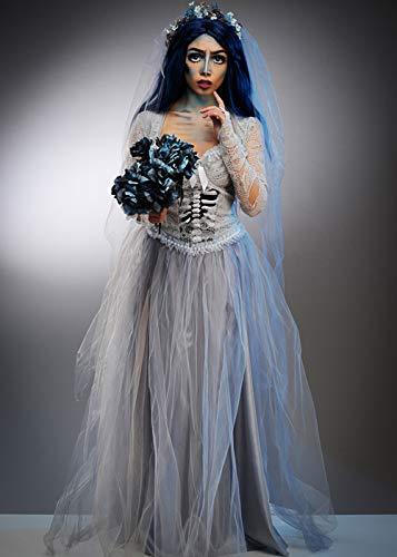 Delights Disfraz de Halloween de tamaño de Novia cadáver Adultos Medium (UK 10-12)