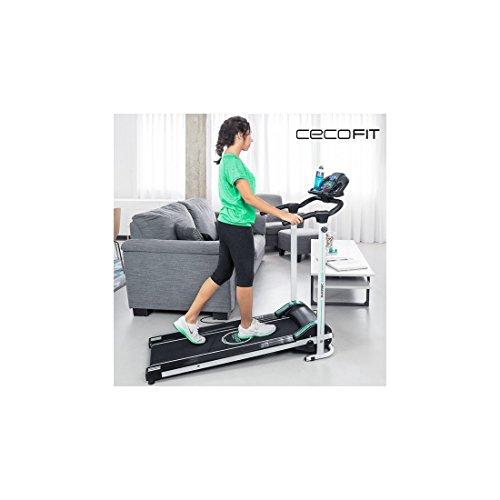 Tapis roulant pieghevole con altoparlanti cecofit run step 7009 (1000045890)