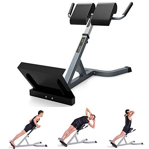 Bauchtrainer/Rückentrainer, Hyperextension Rückentrainer, Home Multifunktionaler Römischer Hocker, Max. Belastung 200 kg, Höhenverstellbar, für das Heim-Fitness-Training