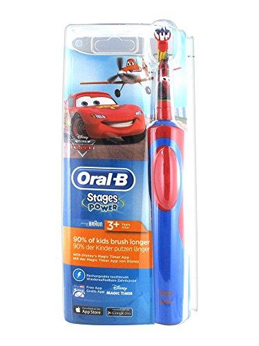 Braun Oral-B Stages Power (Cars) Elektrische Zahnbürste, blau