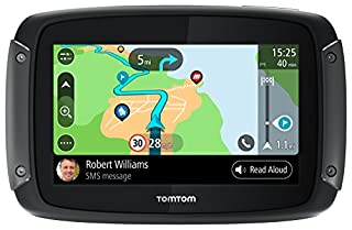 """TomTom 1GF0.047.00 Rider 550 Motorcycle GPS Navigation Device with Built-in Wi-Fi and Free Lifetime Traffic and Map Updates of North America, 5"""" - Black (B07D47QP28) 
