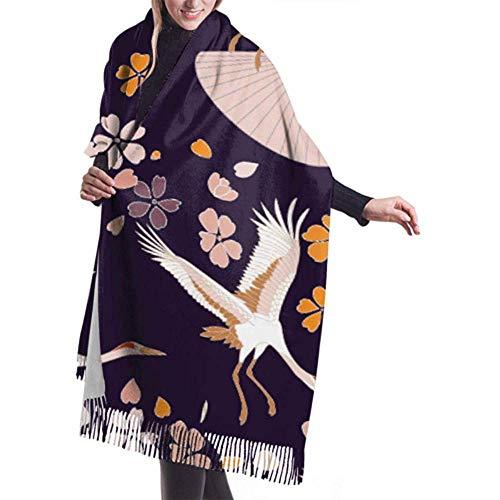 H.D. Bufanda invierno cachemira Feel diseño japonés
