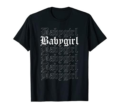 Babygirl E-Girl Ropa Aesthetic Camiseta