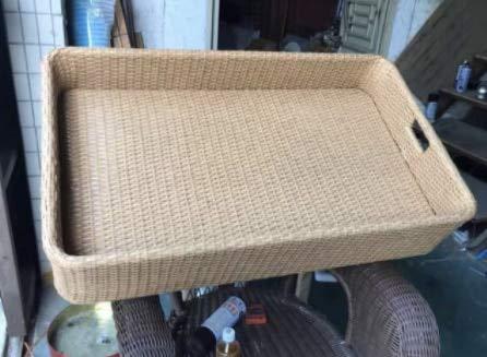 Juego de sillas de ratán para exteriores para muebles de jardín (color: multicolor)