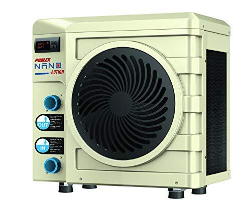 Poolex PC-NAN020 PC-PC-NAN020-Pompe à Chaleur Gamme Nano-r32-Dédiée aux Petits Bassin de 20 m3-3000 Watts