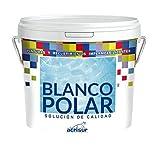 BLANCO POLAR PINTURA PLASTICA PARA INTERIOR Y EXTERIOR 4 LITROS