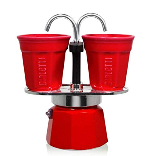 Bialetti Set Mini Express, Rot