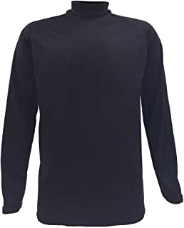product image for Men's WSI Arctic Microtech Long - sleeve Cold Weather Performance Shirt, Black, S