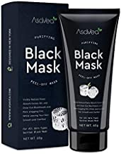 Blackhead Remover Mask, Black Mask Purifying Black Peel Off Mask , Activated Charcoal for Deep Cleansing, Facial Acne Pore Cleaner 60g