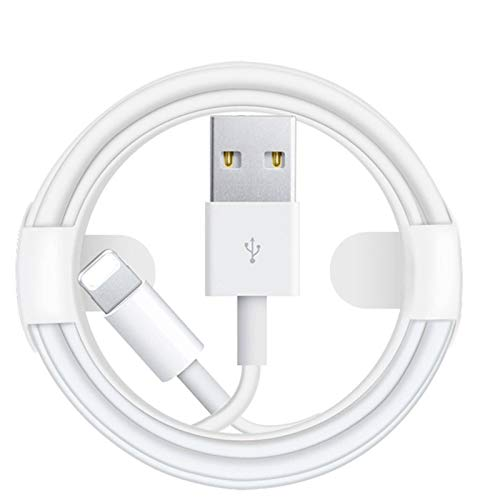 N-B 100cm2m3m Long, 2.4A Lightning Cable Fast Charging Charger, USB Cable, Lead USB To Lightning Charging Cable, The Largest Fast Charging Data Synchronization Cable For Applei Mobile Phones-white