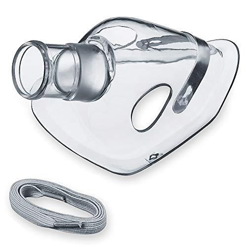 Beurer Babymaske zur Inhalation, mit Halteband, für Babys und Kleinkinder von 0 bis 3 Jahren, Inhalator-Zubehör verwendbar mit den Beurer Inhalatoren
