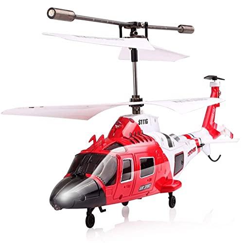 Ataque los marines RC Helicóptero con DIRIGIÓ Luz 3. 5CH Control remoto de helicóptero RC Drone Shatter a prueba de juguetes para favores de fiesta mejores regalos para niños pequeños niños niños raza