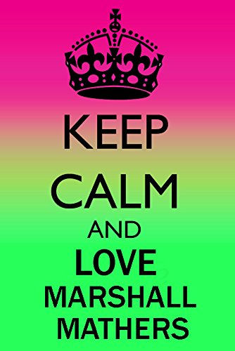 Keep Calm and Love Marshall Mathers Kühlschrank Magnet