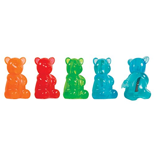 Raymond Geddes Gummy Bear Scented Eraser Sharpener 24/Display Eraser (70346)
