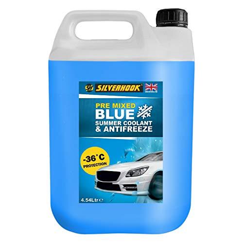 Silverhook SHB4 Ready Mixed Blue Antifreeze, 4.54 Liter