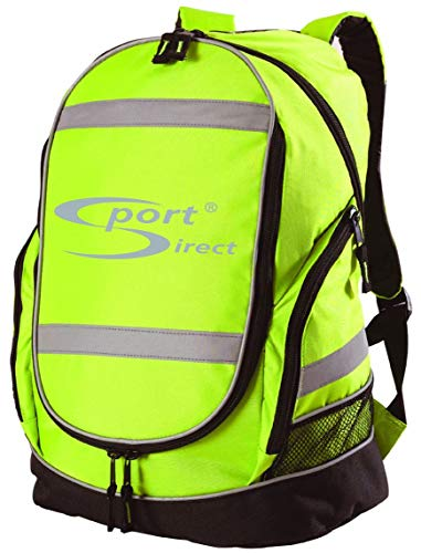Sport Direct Bicycle Reflective High Visibility Rucksack Backpack