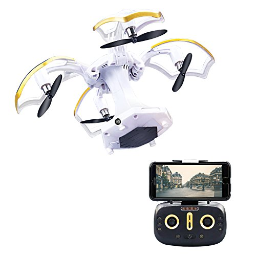 LBKR Tech FPV RC Drone, WiFi Live Feed RC Quadcopter with HD Camera -...