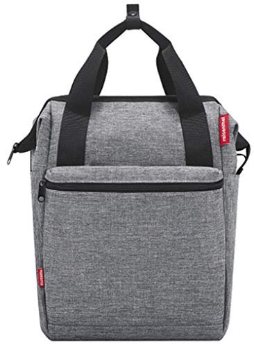 KlickFix Roomy GT Bicycle Bag, Twist Silver