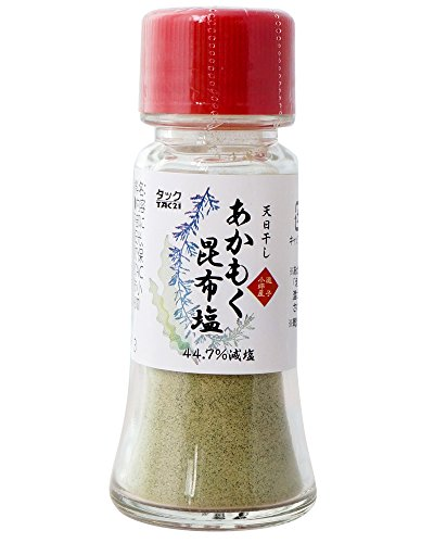 TAC21 天日干しあかもく昆布塩 (減塩タイプ) 20g