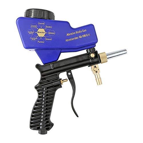 Pistola de chorro de arena con sifón neumático, pistola de chorro de...