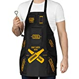 Froster Grembiule Uomo in Cucina, Grembiule da Cucina da Uomo con Tasche per Birra, Grembiule BBQ per lui, Barbecue, Regalo