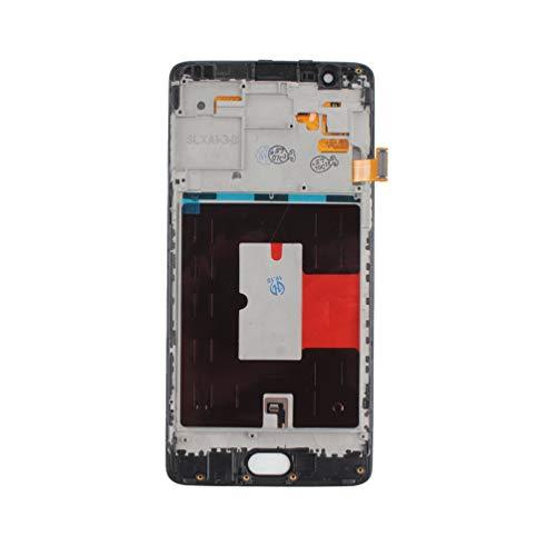 Voor Oneplus 3 / 3T A3000 A3003 Lcd-scherm Touchscreen Digitizer + Frame Zwart