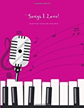 Best blank piano chart Reviews