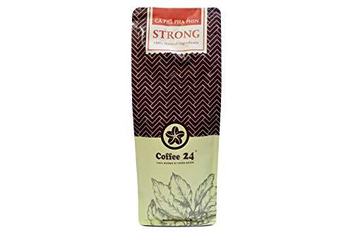 VietBeans Coffee24 STRONG 500g – Hochwertige Kaffeebohnen für Kaffeevollautomaten – Vietnamesischer Kaffee aus organischem Anbau