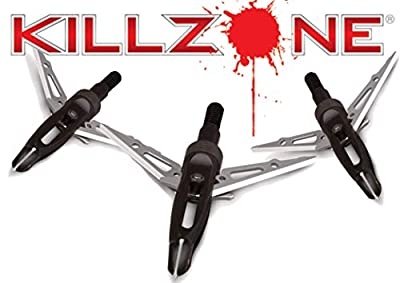 NAP Killzone Crossbow Broadhead 100 Grain 2 Inch Cutting Diameter Three Pack