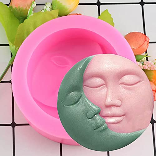 WQSD Halloween Escoba Calabaza Rana Fudge de Silicona 3D Molde de Pastel Pastel Decoración de Chocolate Herramienta para Hornear