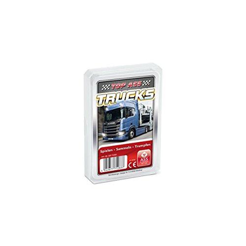 ASS Altenburger 22571283 - Gioco di carte 'Top Ass Trucks' [lingua tedesca]