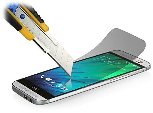 Accessory Master 5055907857689 - Protector de Pantalla para HTC One M8 (Vidrio Templado), Transparente
