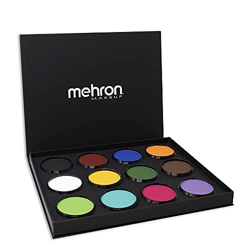 of mehron face paints Mehron Makeup Paradise Makeup AQ ProPalette - 12 Colors