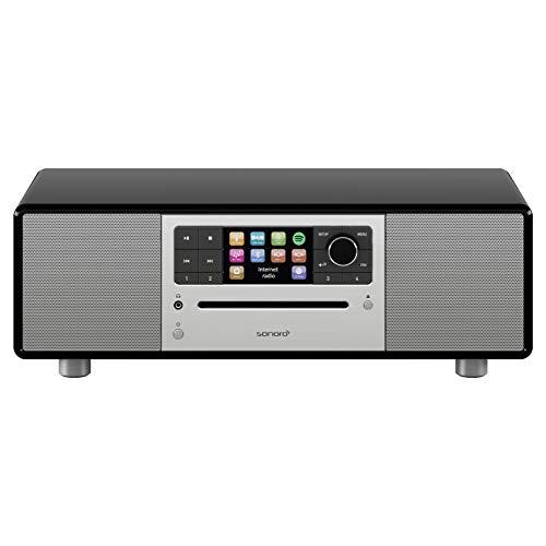 sonoro Prestige Design Kompaktanlage 2018 (FM/DAB+, CD, AUX, Bluetooth, Spotify) Schwarz