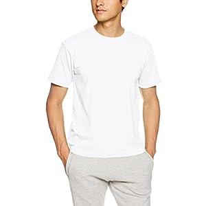 [ヘインズ] ビーフィー Tシャツ BEEFY-T 1枚組 綿100% 肉厚生地 ヘビーウェイトT H5180 メンズ ホワイト XL