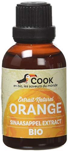 Cook Extrait Naturel Eau Fleur d'Oranger Bio 50 ml
