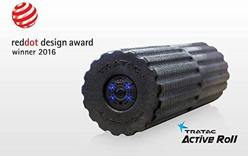 Sale!! TRATAC ActiveRoll - High Intensity Fitness Vibration Foam Roller - Optimized for Back Pain, M...