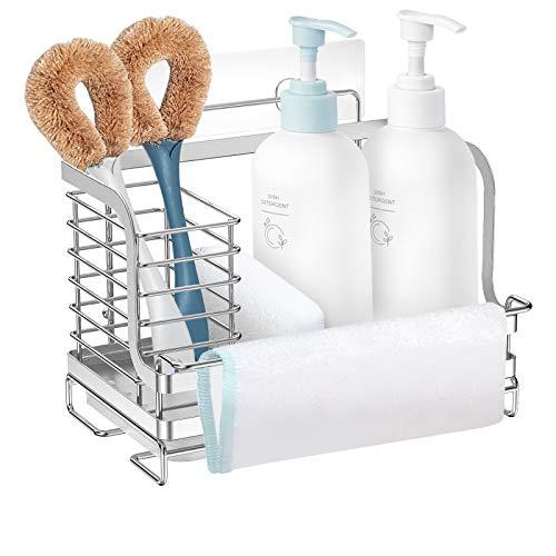 Nieifi Adhesive Kitchen Sink Caddy Organizer Only $5.94 (Retail $23.99)