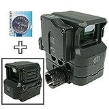 AERITH BLACK FC1 タイプ レプリカ コンパクト ドットサイト ダットサイト 電池付 ブラック 刻印入り FC1 (BK B)