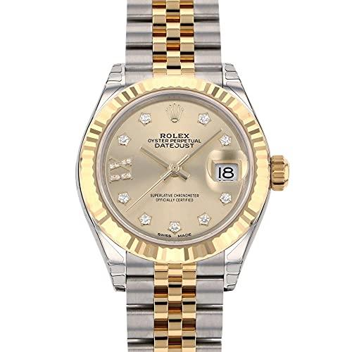 ロレックス ROLEX デイトジャスト 28 279173G シャンパン(IXダイヤ) 文字盤 腕時計 レディース (W186146) [並行輸入品]