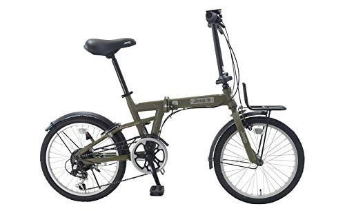 2021年 JEEP 折りたたみ自転車 JE-206G