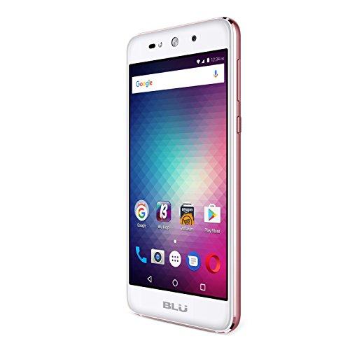 BLU Grand Max Smartphone - 8MP camera, 8GB intern geheugen, 1GB RAM- roségoud
