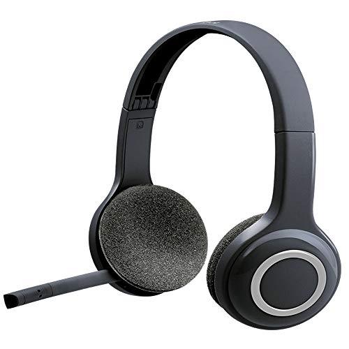 Logitech H600 Wireless Headset für Computer über USB-Empfänger