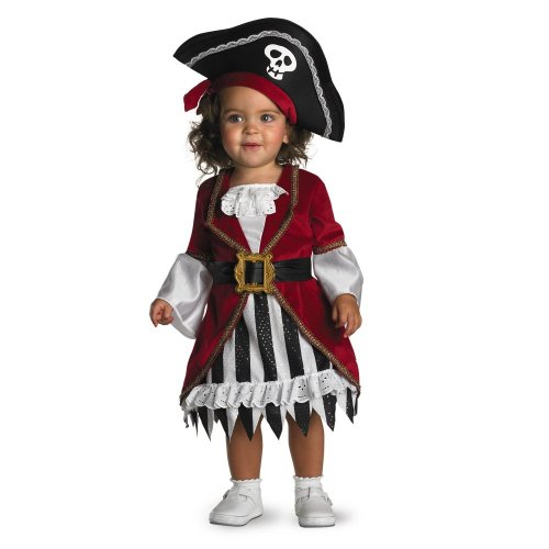 Disguise Infant Costume Pirate Princess, 12-18 Months
