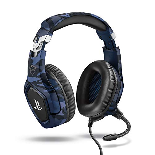 Trust Gaming Cascos PS4 y PS5 Auriculares de Gaming GXT 488 Forze-B,...